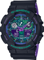 Casio G-Shock GA100BL-1A Analog-Digital Shock Resistant Watch