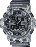 Casio G-Shock GA700SK-1A Ana-Digital Transparent Metallic Tone Watch
