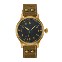 Laco Pilot Watch Original SAARBRUCKEN BRONZE 862085
