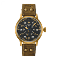 Laco Pilot Watch Original DORTMUND BRONZE 862088