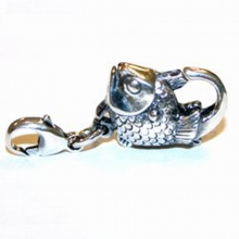 Trollbeads Sterling Silver Fish Clasps