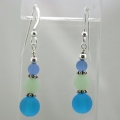 Cape Colors Seaglass Earrings