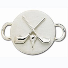 Sterling Silver Golf Clasp