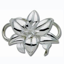 Convertible Sterling Silver Lily Clasp