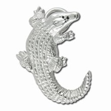 Convertible Sterling Silver Alligator Clasp