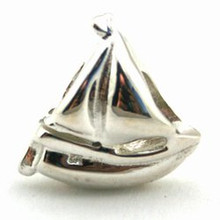 Sterling Silver Sail Boat Charm