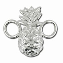 Convertible Sterling Silver Large Pineapple