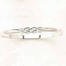 Sterling Silver Celtic Knot Bangle