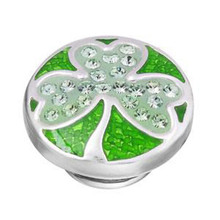 Emerald Shamrock Sparkle JewelPop
