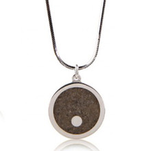 Island Necklace with Fenway Park Infield Sand 18""