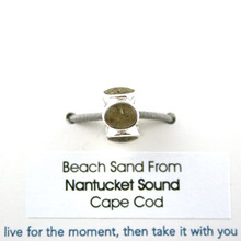 Nantucket Sound Beach Sand Bead