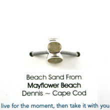 Mayflower Beach Sand Bead