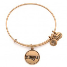 1 Alex and Ani Patriots Round Bangle Russian Gold