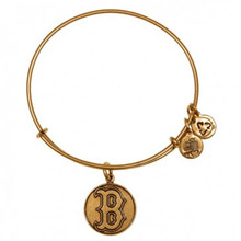 Alex and Ani Red Sox Cap Logo Russian Gold