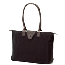Monogramed Long Handle Fold up Tote Bag