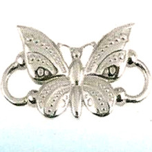 Sterling Silver Convertible Butterfly Clasp