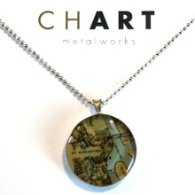 St. Augustine Chart Classic Necklace