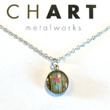 Starfish Chart Petite Necklace