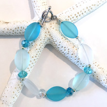 Sea Glass Inspired Bracelet 1