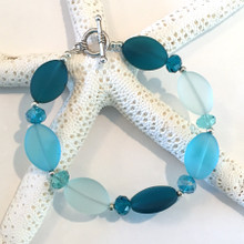 Sea Glass Inspired Bracelet 2