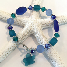 Sea Glass Inspired Bracelet 10