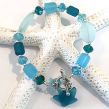 Sea Glass Inspired Bracelet 15
