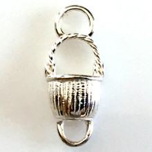 Convertible Sterling Silver Nantucket Basket 1