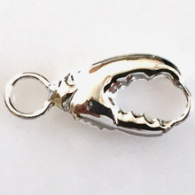 Convertible Sterling Silver Lobster Claw