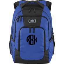 OGIO Logan Back Pack with Monogram