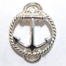 NEW Sterling Silver Anchor Convertible Clasp