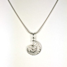 Sterling Silver Nautilus Necklace