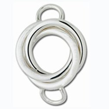 Convertible Love Knot Sterling Silver Clasp