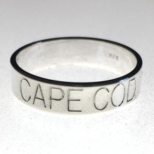 Sterling Silver Cape Cod Band Rings