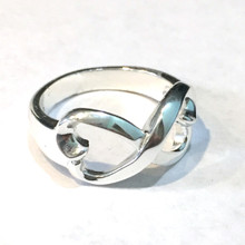Sterling Silver Infinity Ring large