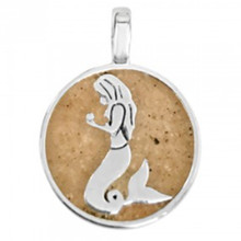 Mermaid Sand Beach Charm