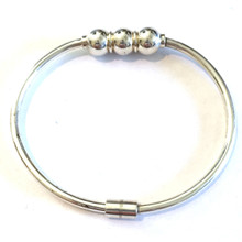 Sterling Silver Triple Ball Cape Cod  Bracelet