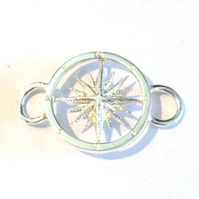 Convertible Sterling Silver Compass