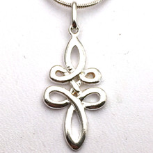 Sterling Silver Celtic Swirl Pendant ONLY NO NECKLACE