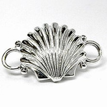 Convertible Sterling Silver Scallop Shell Clasp