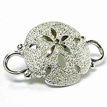 Convertible Sterling Silver Sand Dollar Clasp
