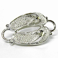 Convertible Sterling Silver Flip Flop Clasp