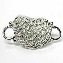 Convertible Sterling Silver Oyster Clasp