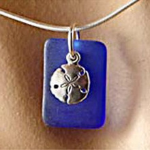 Sandollar Seaglass Necklace