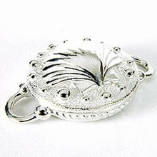 Convertible Scallop Disk Clasp