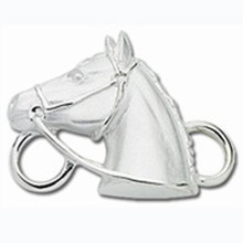 JSB5627 Sterling Silver Horse Head Clasp $51.00