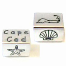Polished Sterling Silver Cape Cod Bead