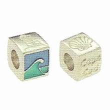 Cape Cod Wave Sterling Bead