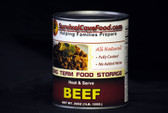 Canned Beef Food Storage - 28oz