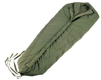 Gear Up Center  G.I Style Intermediate Weight Mummy Sleeping Bag