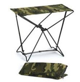FOLDING CAMP STOOL (WOODLAND CAMO)